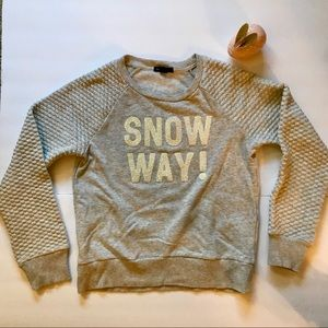 "GAP kids ""Snow Way"" Sweatshirt"